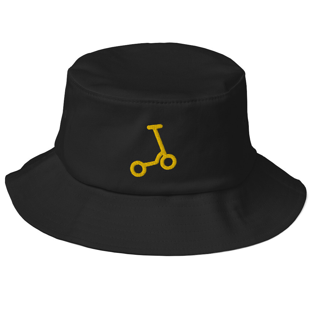 "Old School Bucket Hat ""Scooter"""