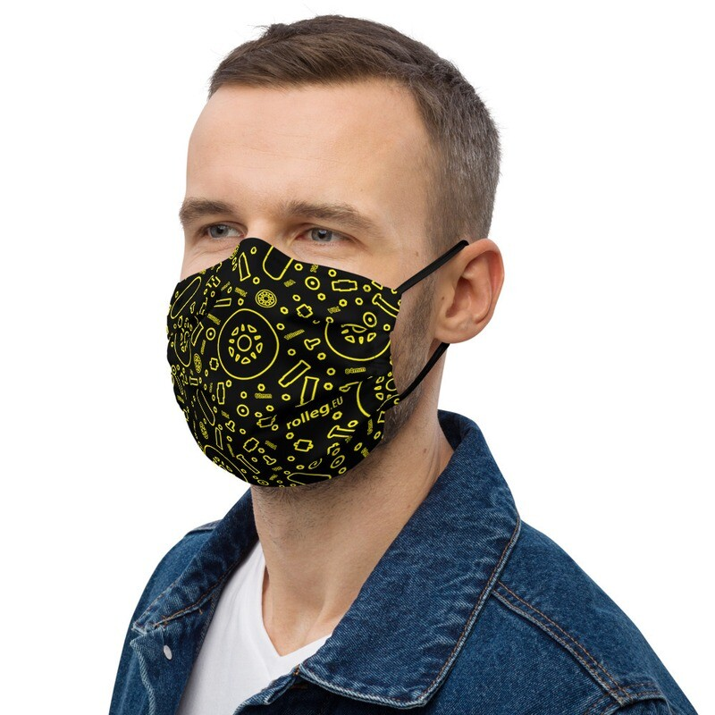 rolleg.eu Premium Face Mask (Black)