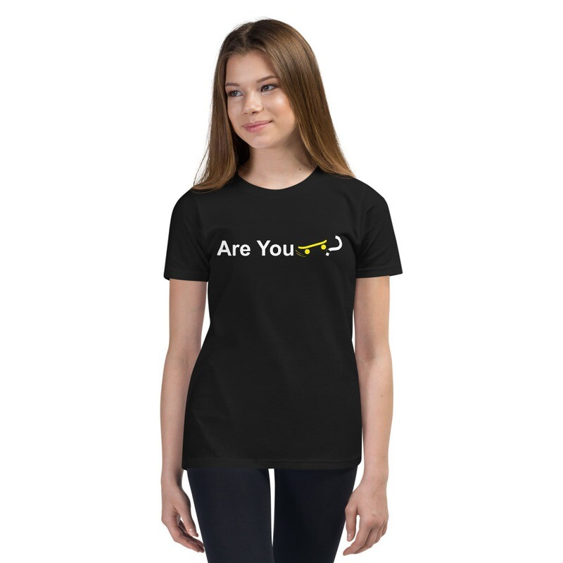 """Youth """"Are You Skateboarder?"""" T-Shirt"""
