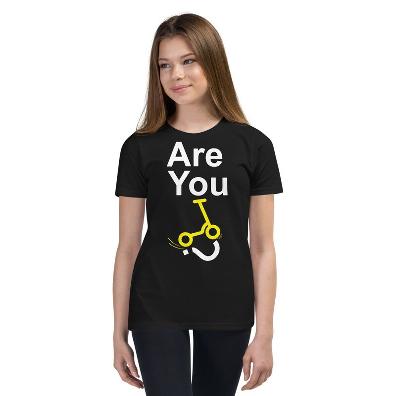 """Youth """"Are You Scooter Rider?"""" T-Shirt"""