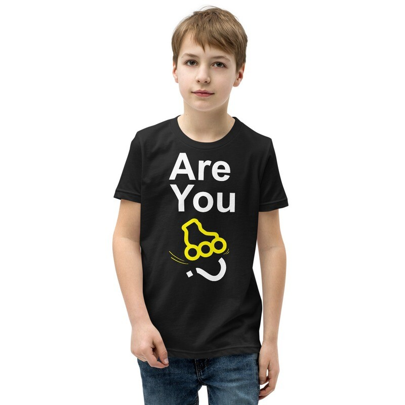 """Youth """"Are You Inline Skater?"""" T-Shirt"""
