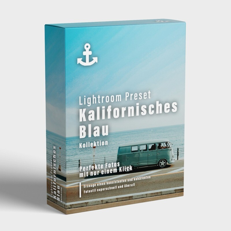 Kalifornisches Blau - Lightroom Preset Kollektion (4 Presets)