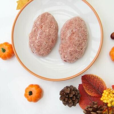 Котлеты из говядины с тыквой