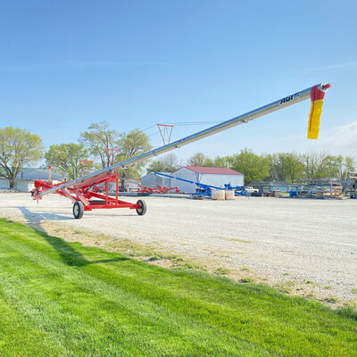 Hutchinson 2021 10 x 73' Swing Away Auger With Electric Power Swing
