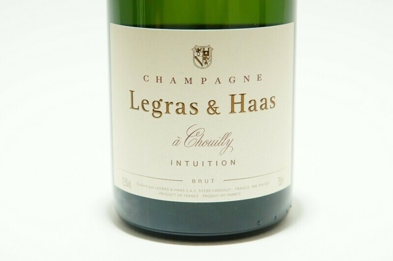 Champagner | Legras & Haas | Brut Intuition | Champagne | Frankreich | 0,75 l