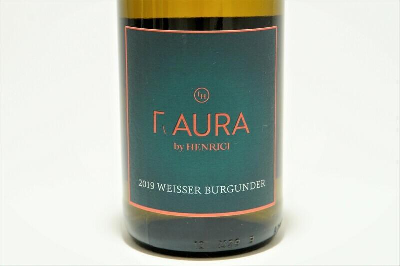 Weißwein | Aura by Henrici | Weisser Burgunder | Friesenheim | Rheinhessen | 0,75 l