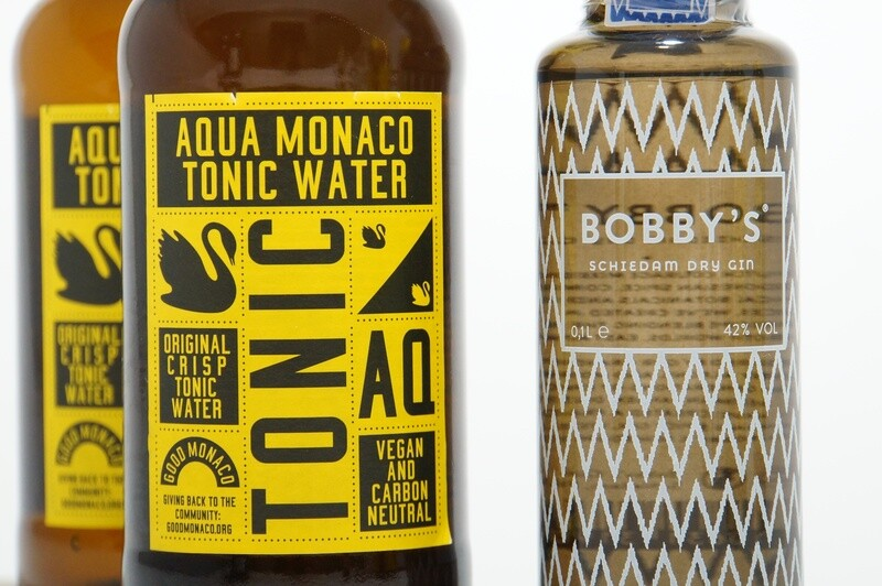 Bundle   Bobby's Gin meets Aqua Monaco   2 Drinks
