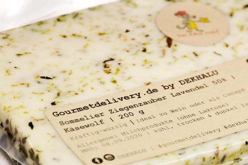 Sommelier Ziegenzauber Lavendel 50%   Käsewolf   200 g