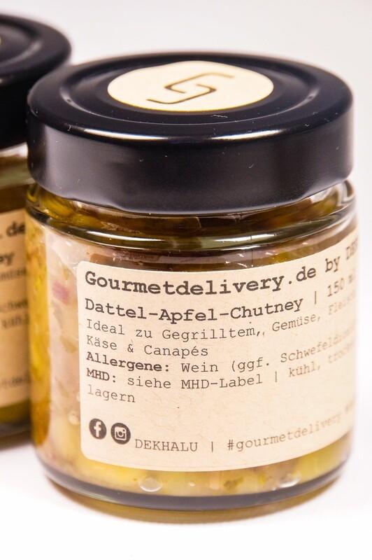 Dattel-Apfel-Chutney  | 150 ml