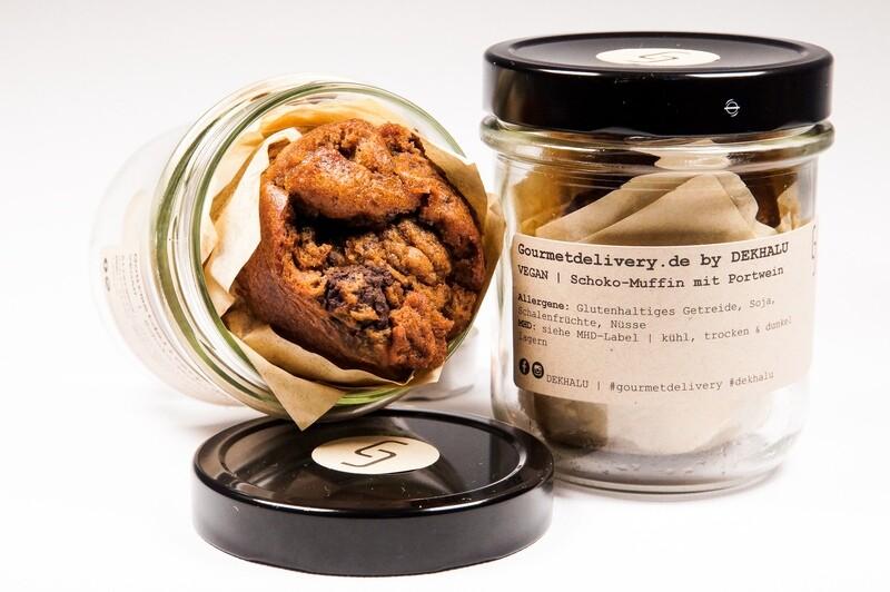 Schoko-Muffin mit Portwein