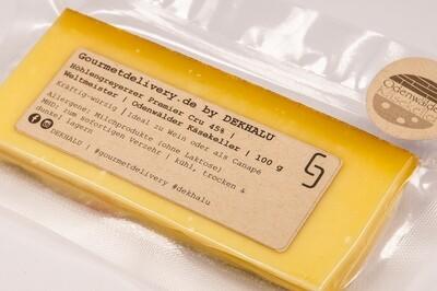 Höhlengreyerzer Premier Cru 45% | Weltmeister | Odenwälder Käsekeller | 100 g