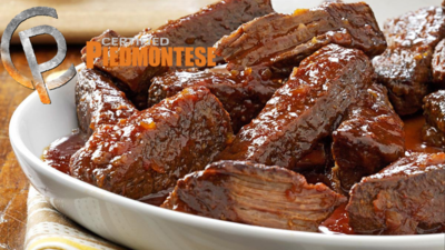 2 / 12 oz Certified Piedmontese Boneless Short Ribs