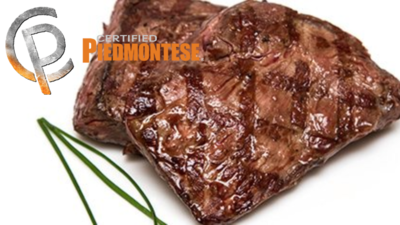 (1) 8 oz Certified Piedmontese Top Sirloin Bavette Steak