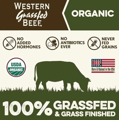 (1) 1 Lb Grass-Fed Ground Beef
