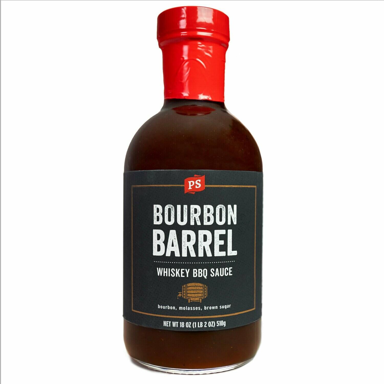 Bourbon Barrel Whiskey BBQ Sauce