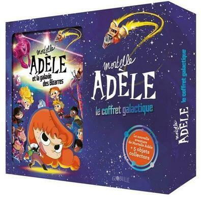 Mortelle Adèle, le coffret galactique