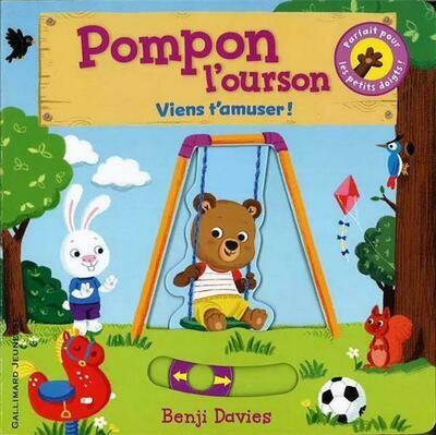 Pompon l'ourson ; viens t'amuser !