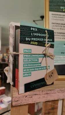 Pack sélection Prix l'impromptu du premier roman