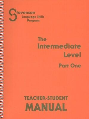 Intermediate (Part 1) Teacher- Student Manual
