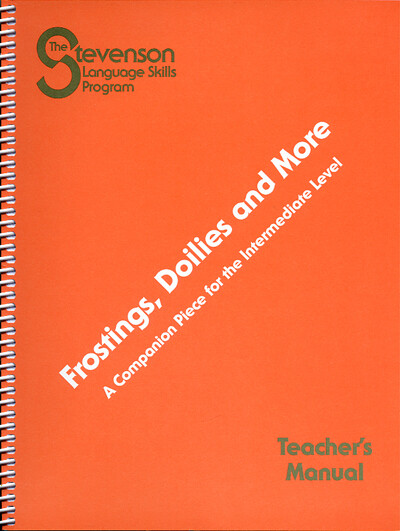 Frostings, Doilies, and More Teacher's Manual
