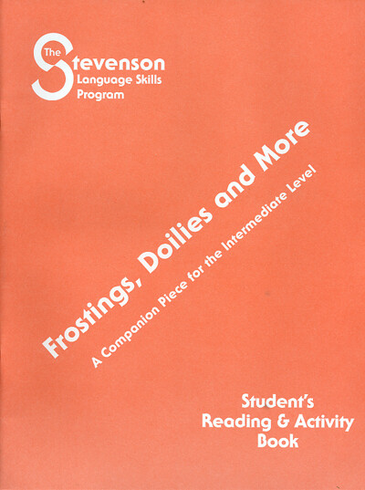 Frostings, Doilies, and More Student's Book