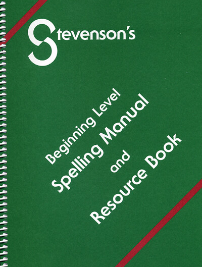 Beginning Level Spelling Manual – Resource Book