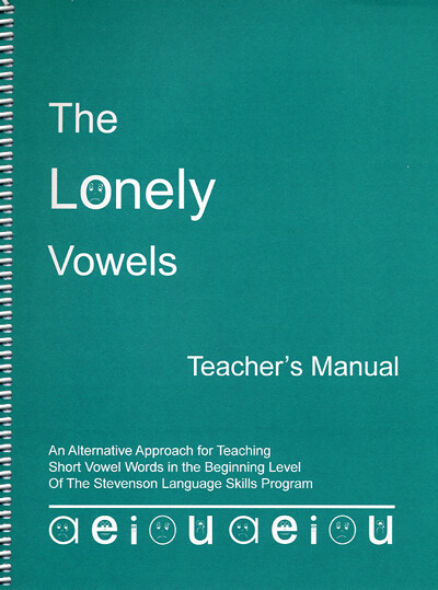 The Lonely Vowels Teacher's Manual