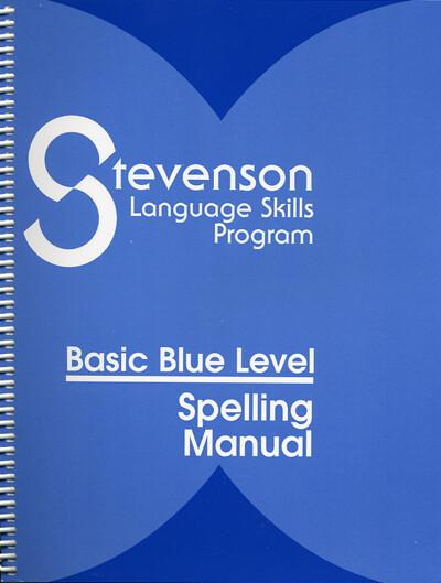 Basic Blue Spelling Manual