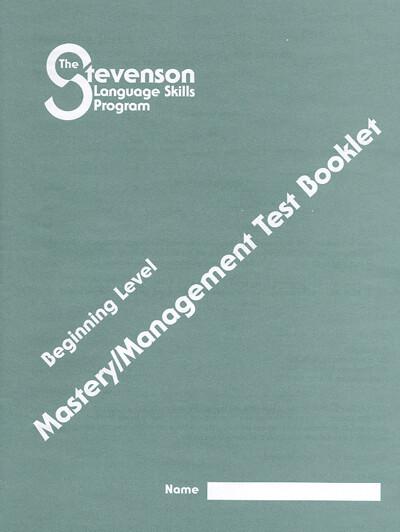 Beginning Level Mastery – Management Test Booklets (single)