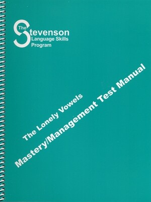 Lonely Vowels Mastery – Management Test Manual