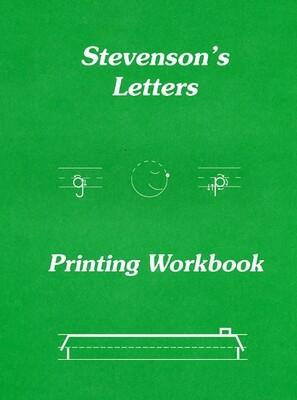 Stevenson's Letters Printing Workbook