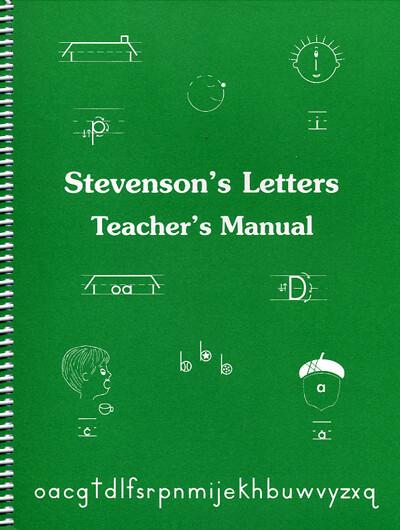 Stevenson's Letter Teacher's Manual