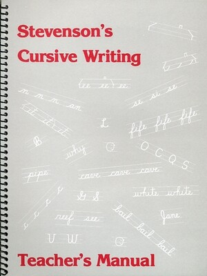 Stevenson's Cursive Writing Manual