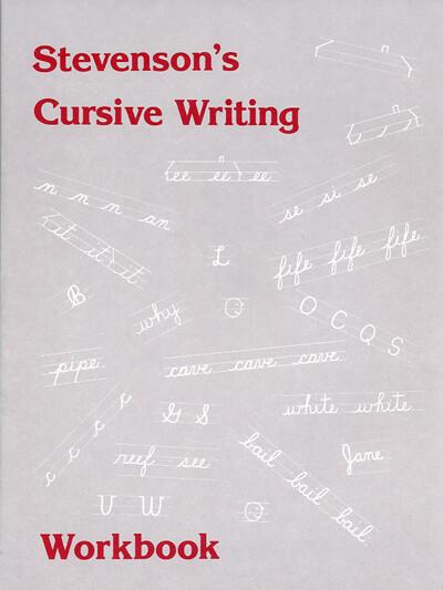 Stevenson's Cursive Writing Workbook