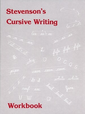 Stevenson's Cursive Writing Workbook