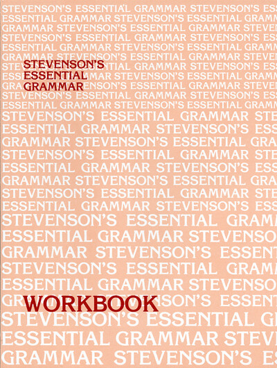 Stevenson's Essential Grammar Workbook