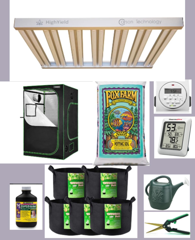 Rafas' 4x4 complete grow kit