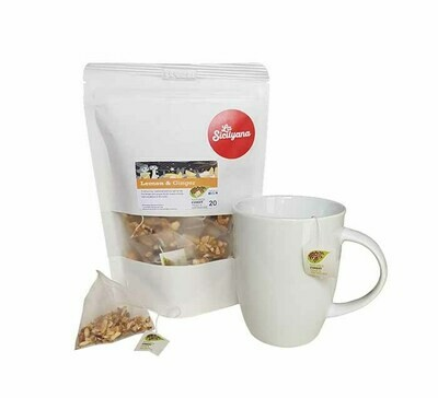 Premium Tea Lemon & Ginger Flavoured - 20 bags
