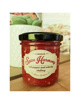 Red Pepper & Whisky Home made chutney - 180gr