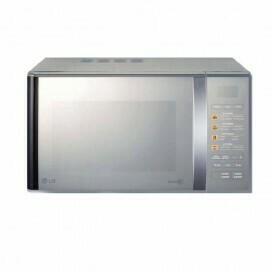LG MH6342BmS 23 Litre Microwave - Silver
