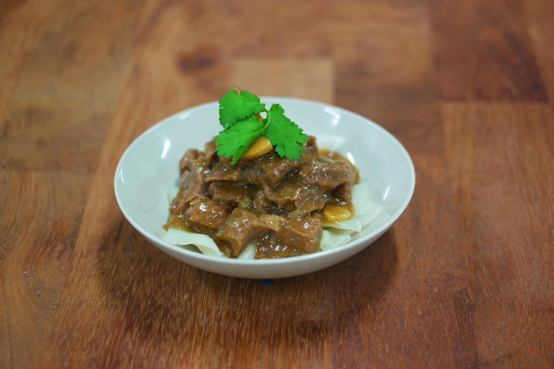 Hong Kong Satay Beef | 沙爹炆牛肉  Net Weight: 500g