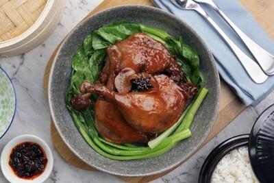 Soy Braised Duck Legs - 豉油醬鴨腿 Net Weight: 660g