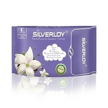Silverloy Anti-Bacterial Sanitary Pad Extra Long