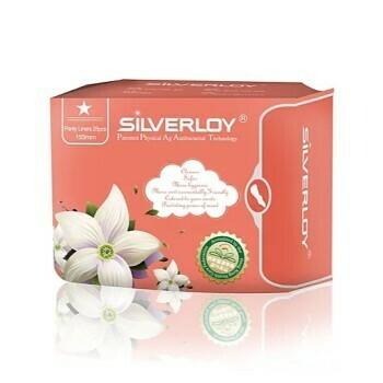 Silverloy Anti-Bacterial Pantyliner