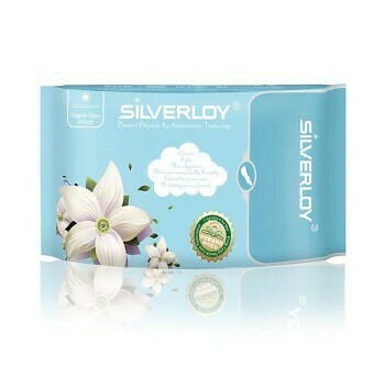 Silverloy Anti-Bacterial Sanitary Pad Regular