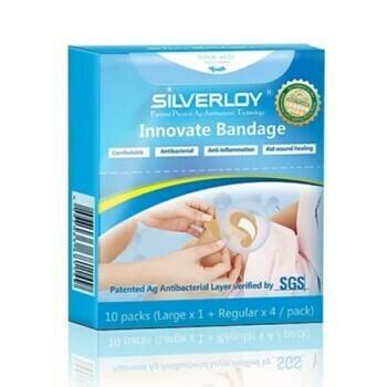 Silverloy Anti-Bacterial Bandage Combo