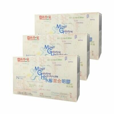 科學+家 水解混合明膠 30包 (9 盒) Mixed Gelatine Hydrolysate (9 Boxes)