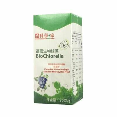 科學+家 德國生物綠藻 360粒 BioChlorella