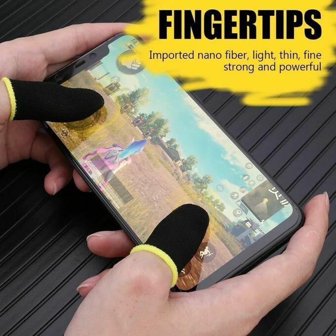 gant de doigt pour jeux de téléphone