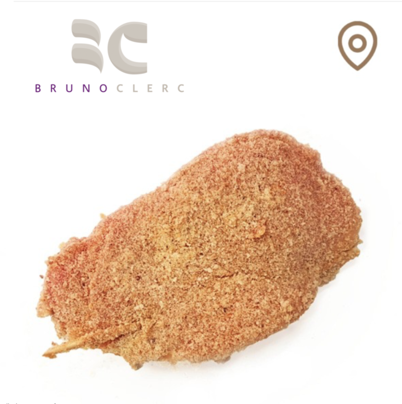 Cordon bleu de porc (filet) env. 200 gr